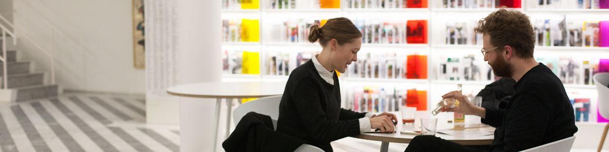 Træn dit yndlingsprog til saloner og sprogcaféer på Gentofte Bibliotekerne