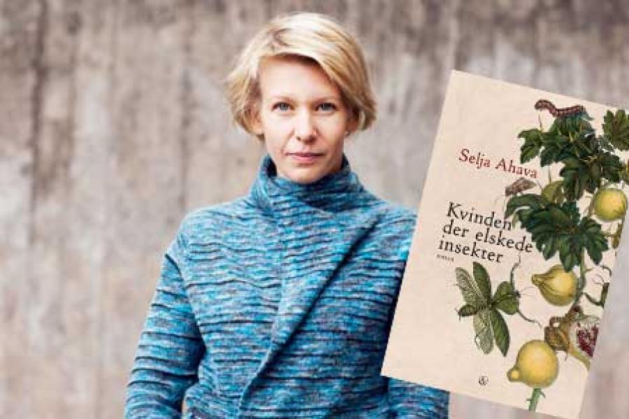 Kvinden der elskede insekter forfatterfoto