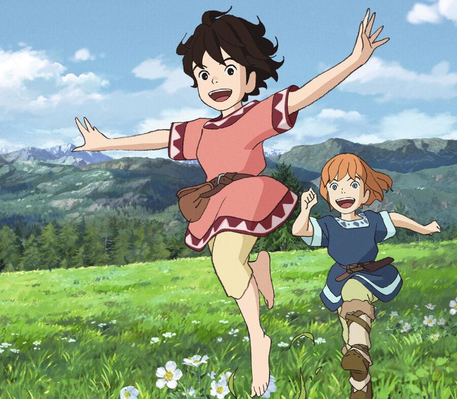 Ronja Røverdatter i Studio Ghibli-udgave
