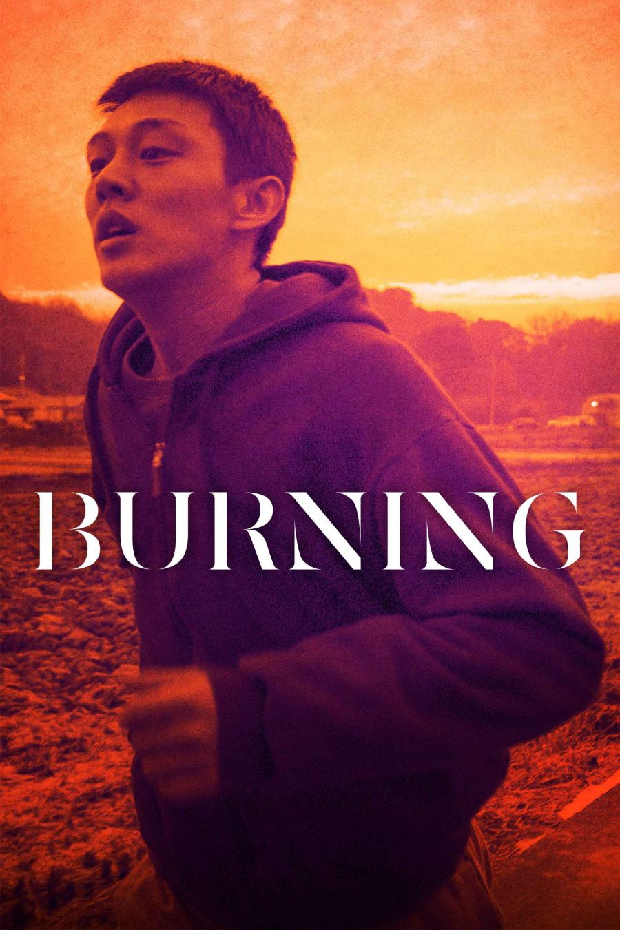 Plakat for filmen Burning.