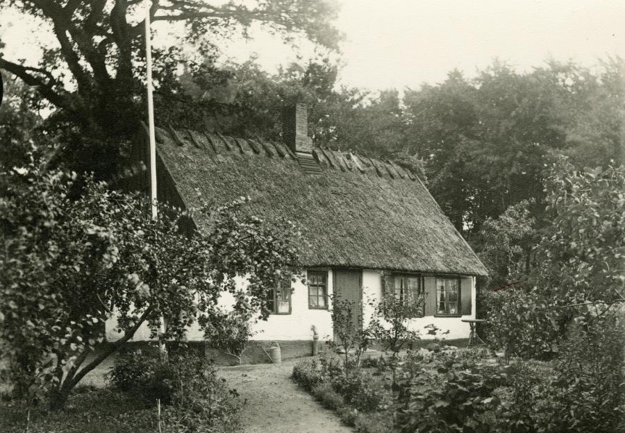 Karens Hus omkring år 1910.