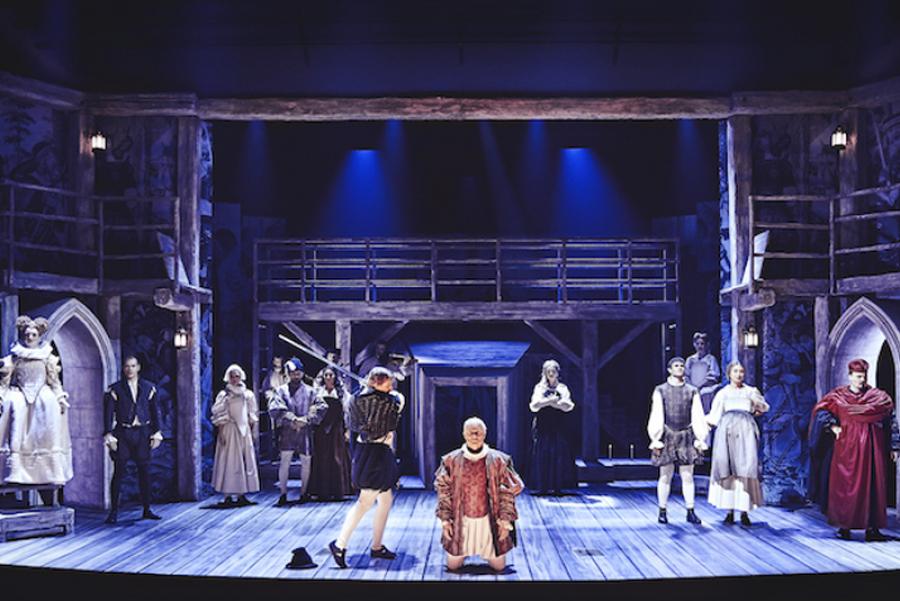Fra forestillingen Den Evilde Ild på Bellevue Teatret i 2020. Foto: Emilia Therese
