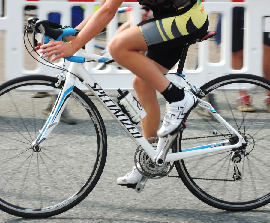 Cykelrytter.  Foto: Colourbox.dk /Tanja Poulsen