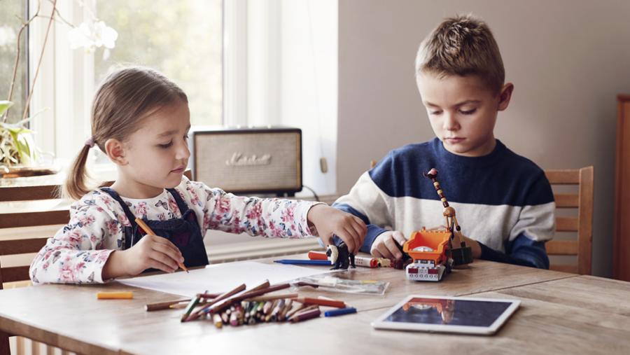 På eReolen Go kan man streame e-bøger og lydbøger til børn.