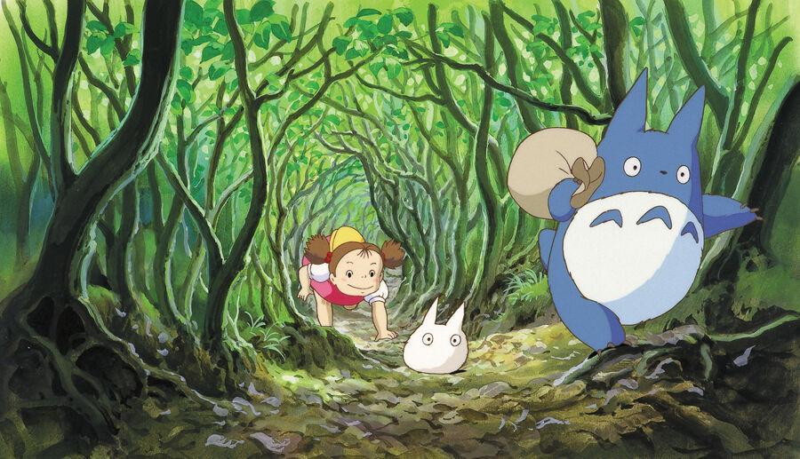 Min Nabo Totoro (hentet fra gkids.com/press/)