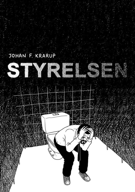 Bogforside til 'Styrelsen' af Johan F. Krarup.