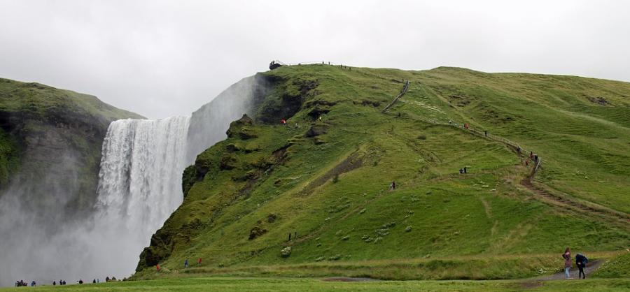 Island på Jægersborg Bibliotek
