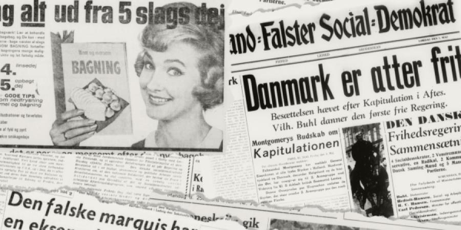 Ældre og herreløse aviser kan læses på mediestream.dk