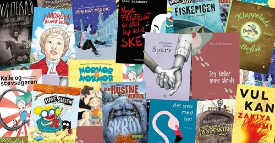 Bøgernes Danmarkskort